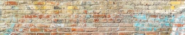 closeup photo of brown brick wall